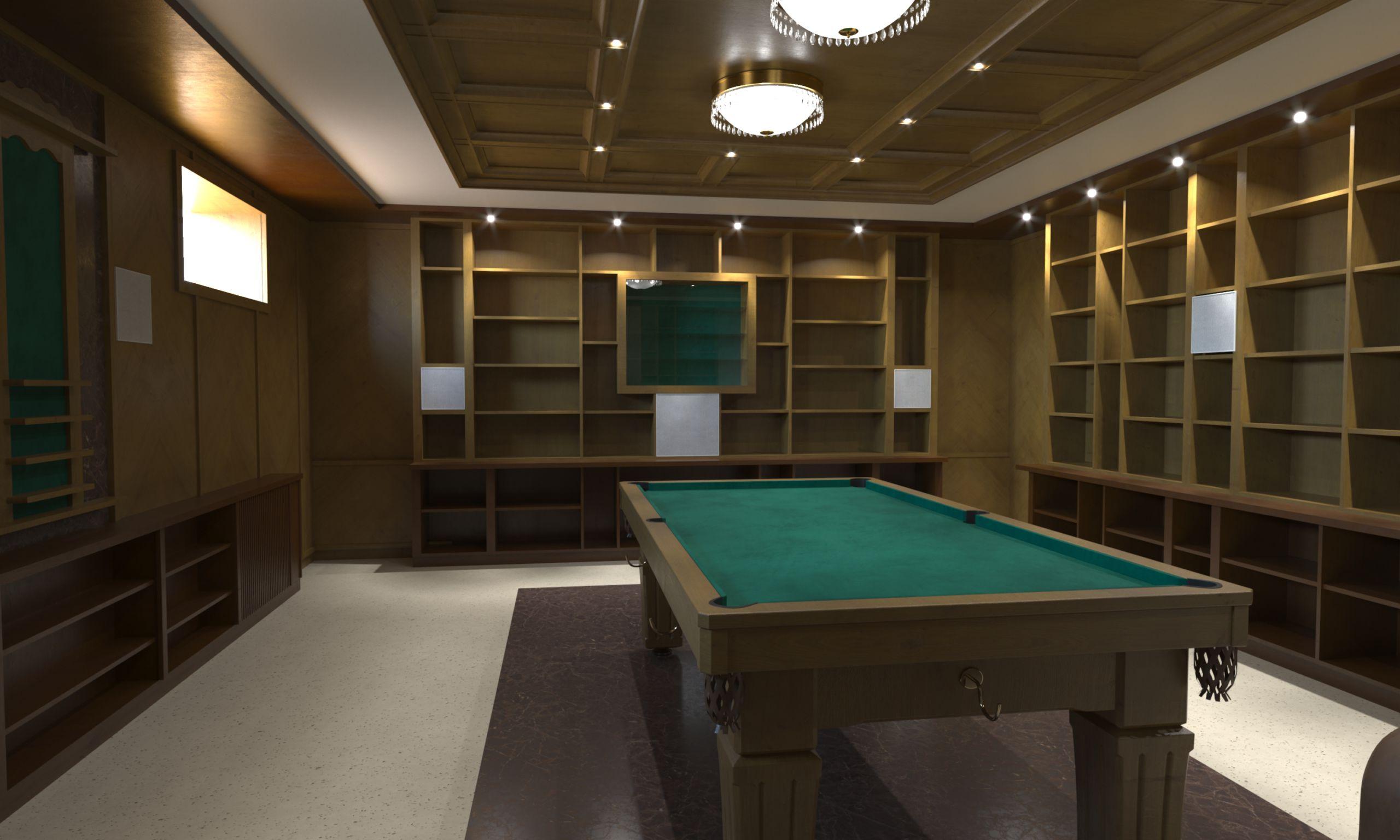 мебель в бильярдную 2